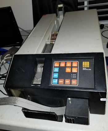 DCI NC 2400 papertape reader and punch