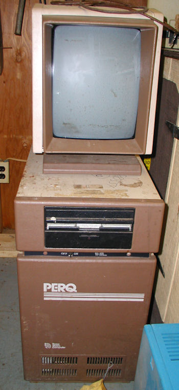 Three Rivers Computer PERQ System F Workstation