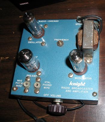 Knight Radio Broadcaster and Amplifier